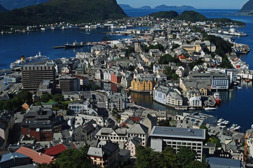 Экономическая карта норвегии